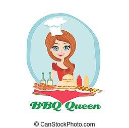 BBQ queen