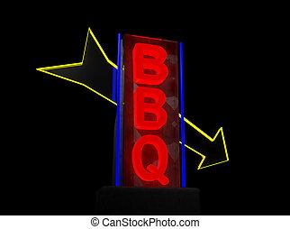bbq, segno