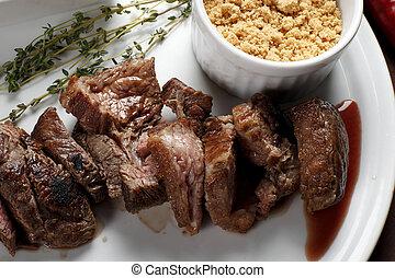 BBQ steak