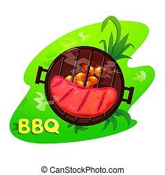 BBQ vector illustration