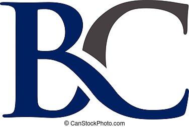 BC letter logo