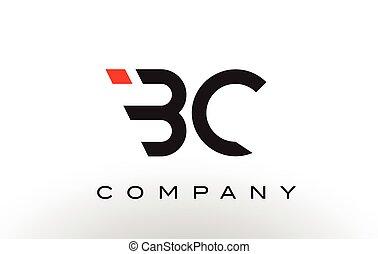 BC Logo.  Letter Design Vector.