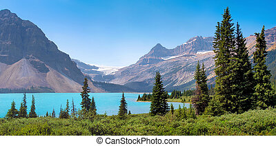 BC, panorâmico,  Canadá, paisagem