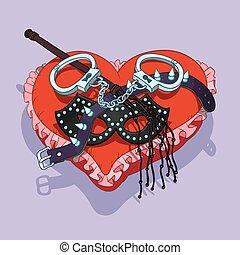 bdsm, giorno, regalo, valentine