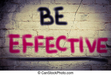 Be Effective Concept