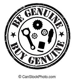 Be genuine buy genuine stamp