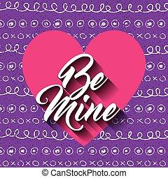 be mine card