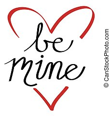 Be Mine Heart