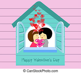 Be my valentines in house