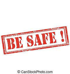 Be Safe!-stamp