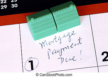 Be sure to pay the home mortgage on time