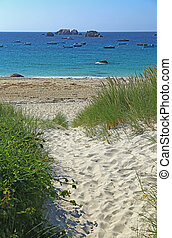 Beach access in Brittany, France - Beach Access at...