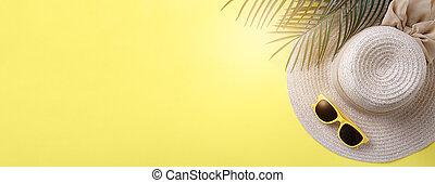 Beach accessories banner