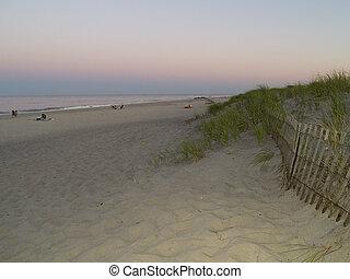 Beach After Sunset