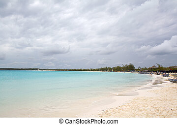 Beach and dramatic sky