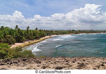 Beach around Cueva Del Indio - Indian Cave, Puerto  Rico