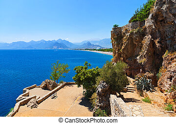 Beach at Antalya Turkey