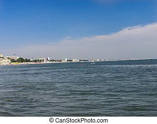 Beach at Black Sea