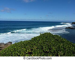 Beach At Gris Gris Cliff In Souilla