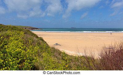 Beach at Harlyn Bay North Cornwall