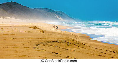 Beach at iSimangaliso-Wetland-Park South Africa