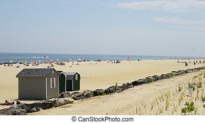 Beach at Long Branch, New Jersey (USA)