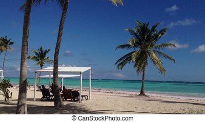 Beach at sunny day