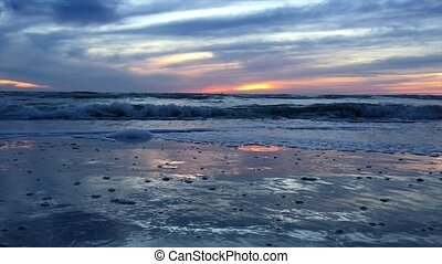Beach at Sunset Steady   - Tropical Beach Landscape