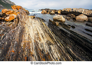 Beach at Tsitskamma National Park South Africa