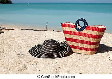 beach bag hat