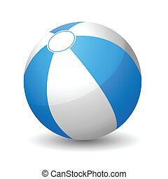 Beach ball - Vector illustration of beach ball