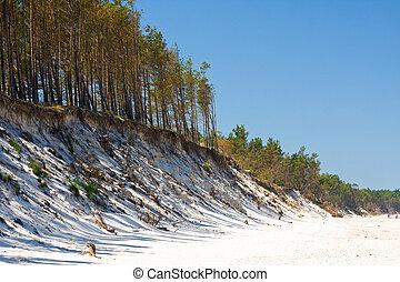 beach, Baltic Sea, Poland