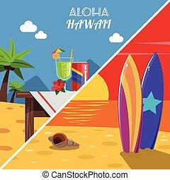Beach Banner Set