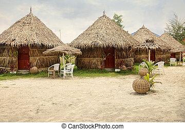 Beach bungalow