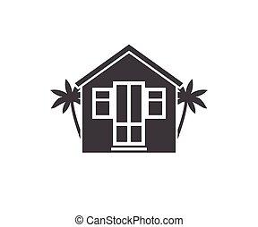 Beach Bungalow Logotype