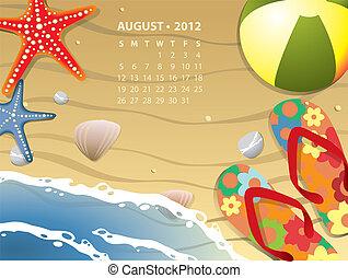 Beach Calendar 2012