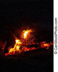 Beach Campfire