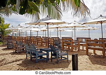 Beach Chair and Umbrella
