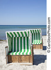 Beach Chair at the sea