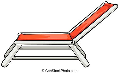 beach chair illustrations and clipart 8 716 beach chair royalty rh canstockphoto com beach deck chair clipart beach chair and umbrella free clipart