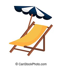 beach chair wooden