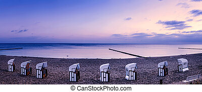 Beach Chairs on Usedom