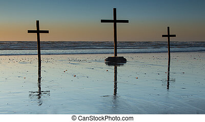 Beach Crosses