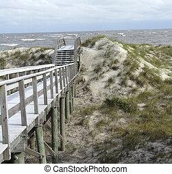 Beach Dunes Overlook Jekyll Island Georgia