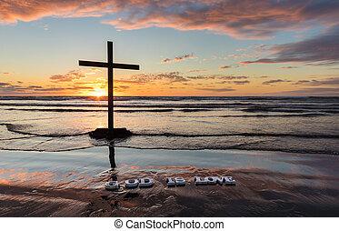 Beach God is Love