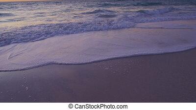 Beach holiday destination - Sandy beach and calm sea with ...