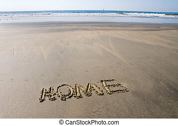 Beach home - A beautiful oceanfront setting is home to ...