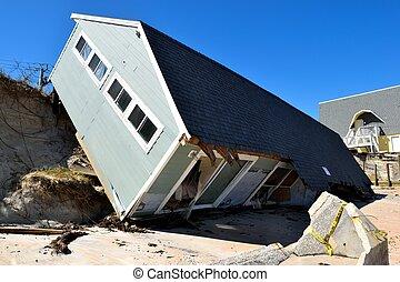 Beach Home Destruction