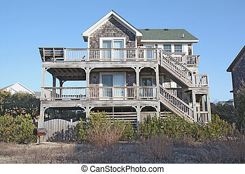 Beach house in North Carolina - A beach house on the Outer...
