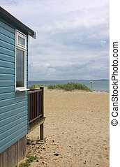 Beach Hut View